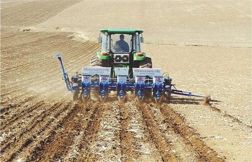 四平:保护性耕作带来玉米种植业革命